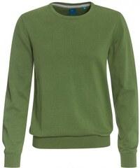 COOL CODE Herren Strickpullover grün aus Baumwolle