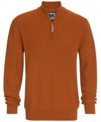 Paul R.Smith Herren Pullover Sweatshirt körperbetont orange aus Baumwolle