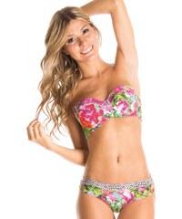 Milonga Bikini à balconnet imprimé floral GUADALUPE (HAUT)