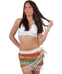 Mia Confitura Paréo multicolore et crochet
