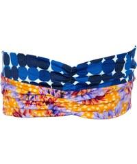 Maaji Bandeau pour cheveux beach turban imprimé multicolore