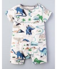Sommerlicher Dinosaurier Strampler Cremefarben Baby Boden
