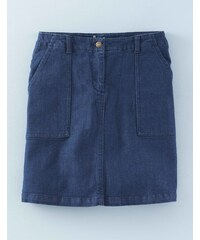 Patch Pocket Skirt (Denim) Vintage Denim Damen Boden