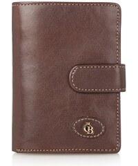 Castelijn & Beerens Dámská kožená peněženka Castelijn & Beerens 425420 hnědá