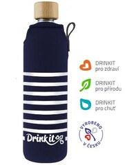 Drink It Cestovní skleněná láhev NÁMOŘNÍK, 0,3 L