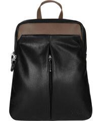 ESTELLE Dámský kožený batoh do města 0143 černo-béžová