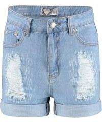 BOOHOO Děrované džínové šortky Mia