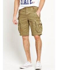 CLOSET Pískové kapsáčové šortky