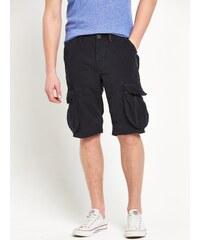 CLOSET Stylové černé kapsáčové šortky