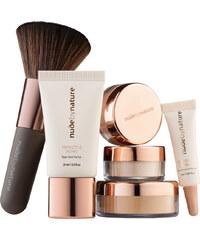 Nude by Nature N4 - Silky Beige Complexion Essentials Starter Kit Make-up Set 1 Stück