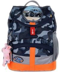 School Mood Kindergartenrucksack m. innenliegendem Trinkflaschenhalter, camoufl., »Kiddy Air Force«
