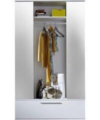 Garderobenschrank (2-trg.), mit Spiegel