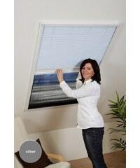 CULEX Insekten-/Sonnenschutzplissee »Kombi-Plissee« BxH: 110x160 cm, silberfarben