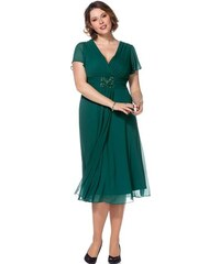 SHEEGO STYLE Damen Style Abendkleid grün 40,42,44,46,48,50,52,54,56,58