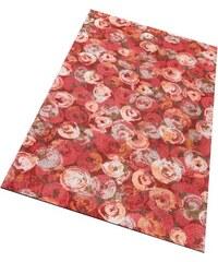 WASH+DRY BY KLEEN-TEX Läufer wash+dry Punilla rutschhemmend beschichtet rot 17 (B/L: 75x120 cm)