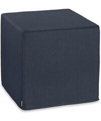Outdoor-Sitzwürfel Cube CARIBE OUTDOOR HOCK blau