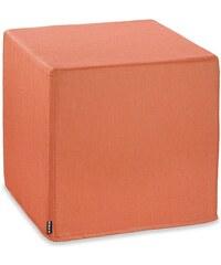 Outdoor-Sitzwürfel Cube CARIBE OUTDOOR HOCK orange
