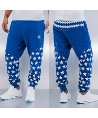 Just Rhyse Star Sweat Pants Blue