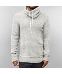 Just Rhyse Knit Sweater Grey Bone