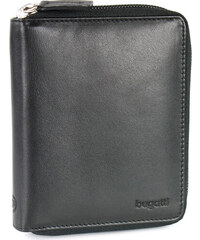 53e51216def Bugatti Zipová kožená peněženka PRIMO 49107701 černá