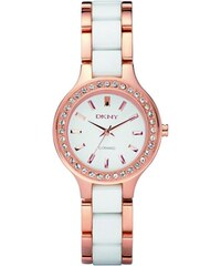 Dkny Montres, Chambers Ceramic Rose White en blanc