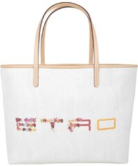 Etro Sacs à Bandoulière, Shopping Bag Medium White en blanc