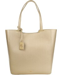 Lauren Ralph Lauren Sacs à Bandoulière, Acadia Leather Shopping Bag Gold Rush en or