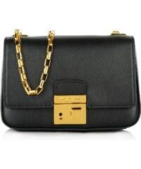 Michael Kors Collection Sacs à Bandoulière, Gia Chain Shoulder Flap Bag SM Black en noir