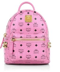 MCM Sacs à Bandoulière, Stark Backpack X-Mini Pink en rose vif