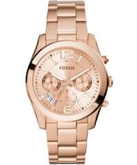 Fossil Montres, Ladies Perfect Boyfriend Watch Roseor en or, rose pâle