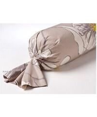 Inspiration par Anne de Solène Hibiscus - Taie d'oreiller/traversin - jaune