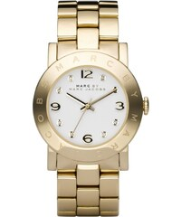 Marc Jacobs Montres, Amy Stainless Steel Gold en or, blanc