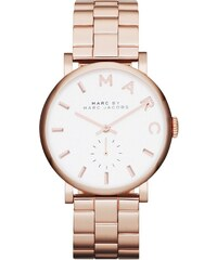 Marc Jacobs Montres, Baker Stainless Steel Roséor en or, rose pâle, blanc