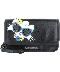 Karl Lagerfeld Sacs à Bandoulière, Beach Choupette Crossbody Bag Black en noir