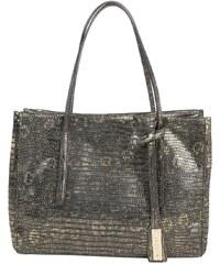 Abro Sacs portés main, Lizzard Vintage Handbag Leather Bronce en marron