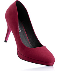 bpc selection Escarpins en 2 largeurs, chaussant normal rouge avec 9 cm talon entonnoirchaussures & accessoires - bonprix