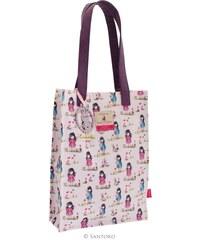 Santoro London - Gorjuss - Nákupní taška malá - Ladybird Pastel
