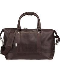 Kožená cestovní taška značky Jahn-Tasche 698 hnědá