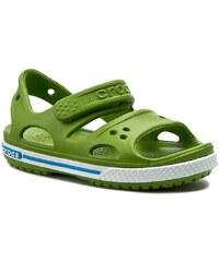 Sandály CROCS - Crocband II Sandal Ps 14854 Parrot Green/Ocean