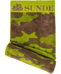 SUNDEK towel with camoflage print