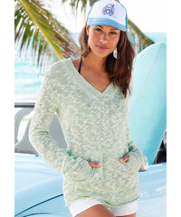 BENCH Plážový pulovr, Bench mentolová