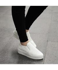 Lesara Plateau-Sneaker mit Strass - 35