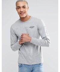 Billionaire Boys Club - Langärmliges T-Shirt mit Logo und Print - Grau