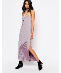 Free People - She Moves - Robe longue - Violet
