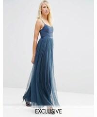 Needle & Thread - Giselle - Robe longue style ballet - Bleu marine