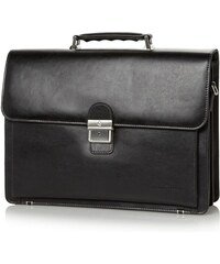 Castelijn & Beerens Pánská kožená aktovka na notebook 869598 černá
