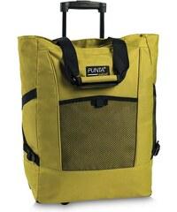 PUNTA wheel Nákupní taška na kolečkách 06980-3700 žlutozelená