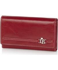 Castelijn & Beerens Dámská kožená peněženka 392402 červená