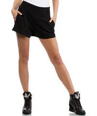 Černé šortky MOE 069