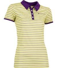 Dámské triko s límečkem ALPINE PRO ULRICO 2 SVĚTLE